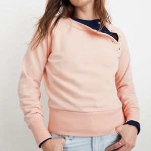 Mile(s) by Madewell button detail sweatshirt